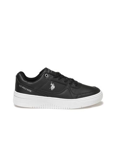 U.S. Polo Assn. Lee Wmn Kadın Sneaker Ayakkabı Siyah